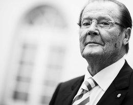Z OSTATNIEJ CHWILI: W wieku 89 lat odszedł filmowy James Bond! Roger Moore zmarł na raka