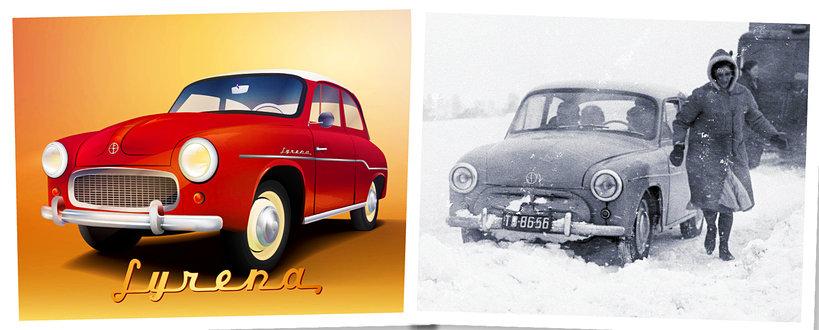 Syrenka, auto, 60-lecie