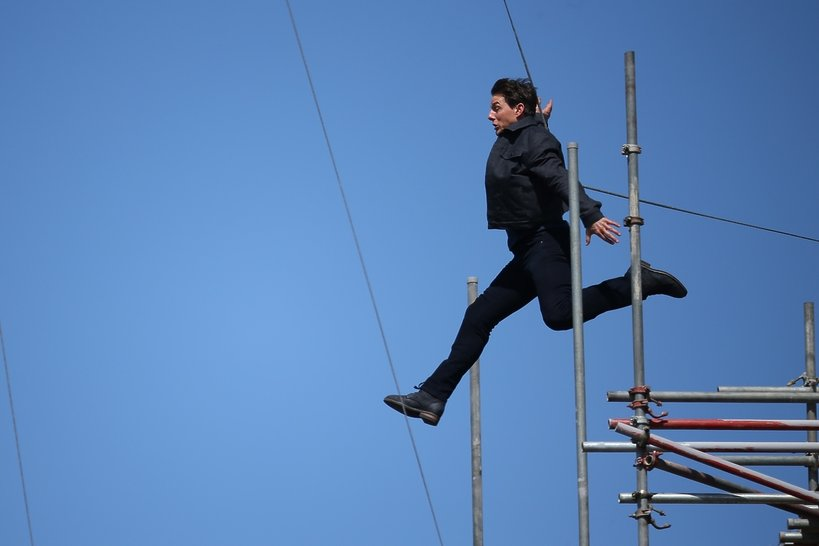 Tom Cruise, Tom Cruise na planie filmowym