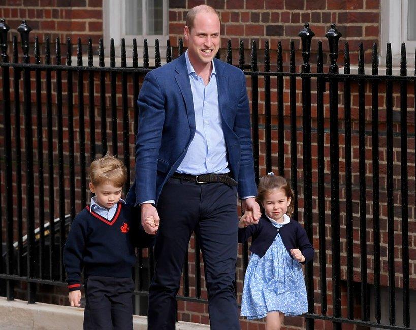 William z dziećmi