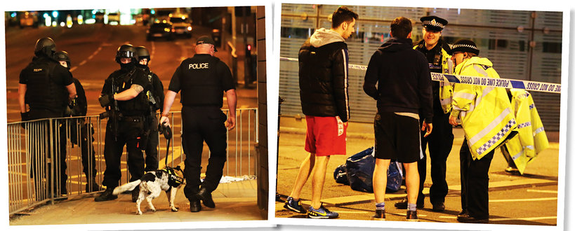 zamach w Manchesterze, zamach, Manchester, koncert Ariany Grande