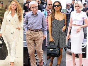 Blake Lively, Woody Allen, Eva Longoria, Kristen Stewart
