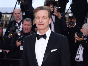 Colin Firth  w Cannes