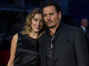 Eleganccy Johnny Depp i Amber Heard