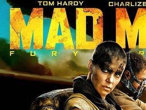 Charlize Theron na planie filmu Mad Max: Na drodze gniewu