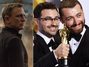 Daniel Craig, Sam Smith, Jimmy Napes
