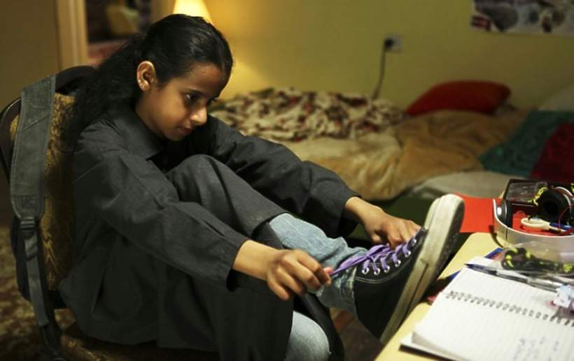 Dziewczyna w trampkach film o Arabkach
