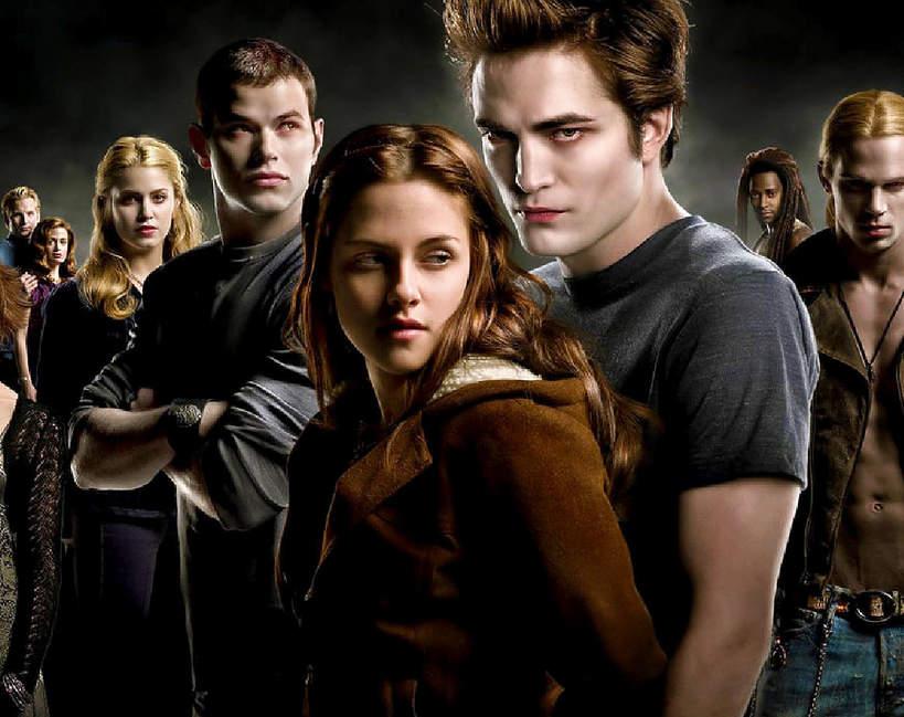 Zmierzch, filmy o wampirach