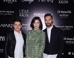 Karolina Gorczyca z duetem Thecadess na gali Doskonałość mody