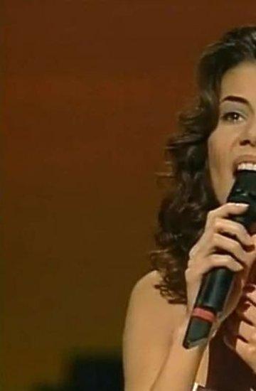 Edyta Górniak w 1994 roku na Eurowizji