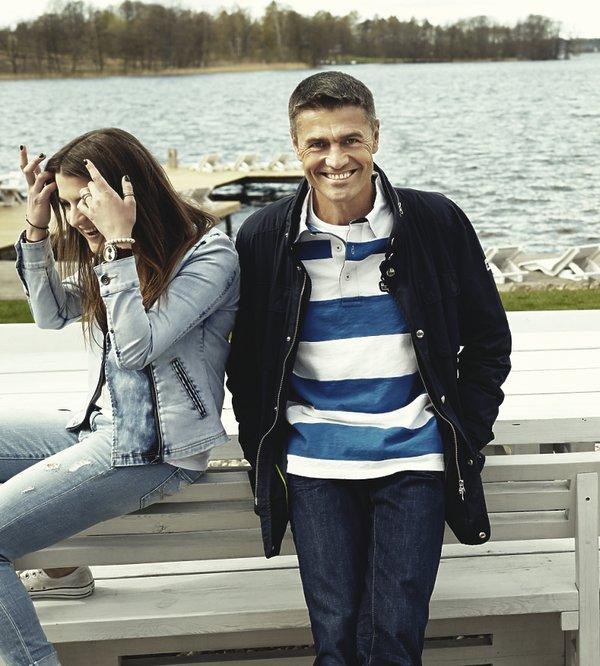 Krzysztof, Alicja i Karolina Hołowczyc,