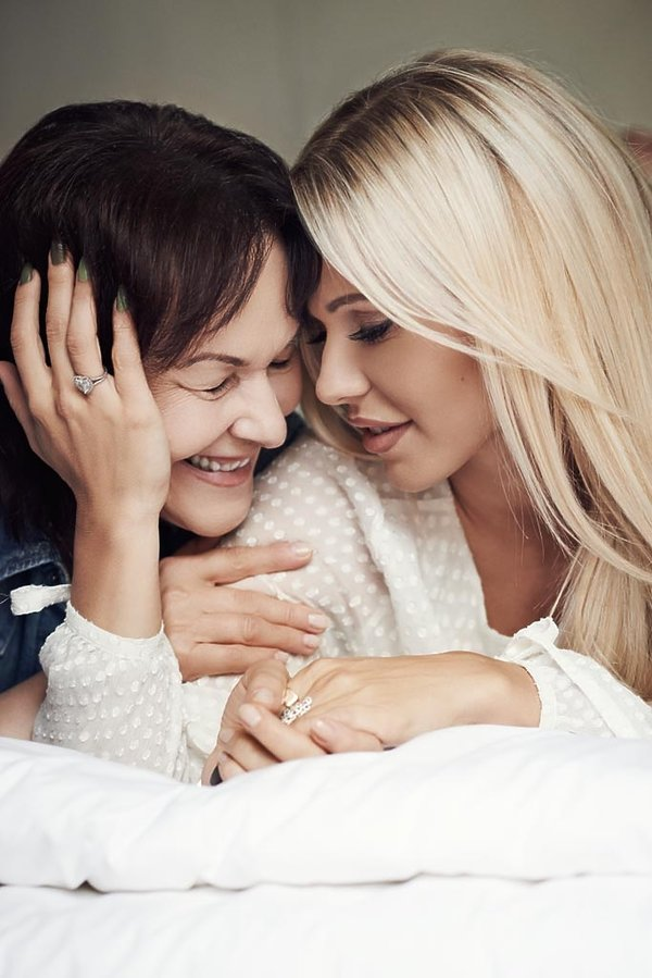 Dorota Rabczewska z mamą