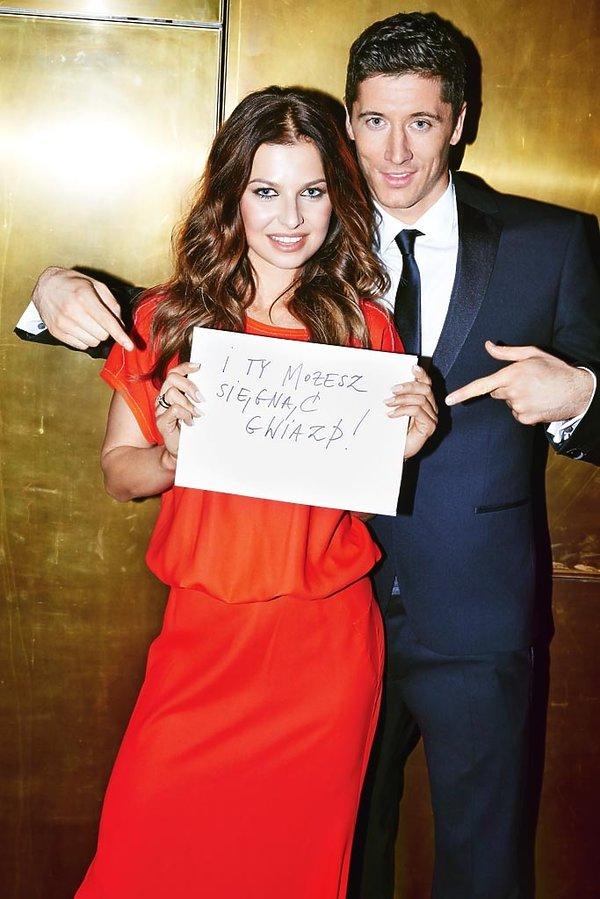 Anna i Robert Lewandowscy, VIVA! grudzień 2014