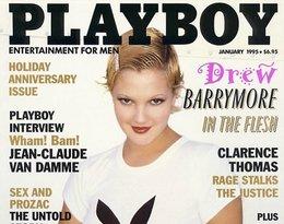 Drew Barrymore z króliczkiem