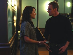 Michael Fassbender jako Steve Jobs i Kate Winslet jako Joanna Hoffman