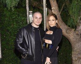 Jennifer Lopez i Casper Smart na przyjęciu Oliviera Rousteinga