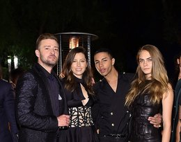 Justin Timberlake, Jessica Biel, Olivier Rousteing, Cara Delevingne