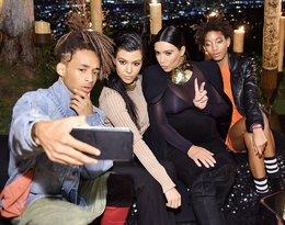 Jaden Smith, Kourtney Kardashian, Kim Kardashian West, Willow Smith