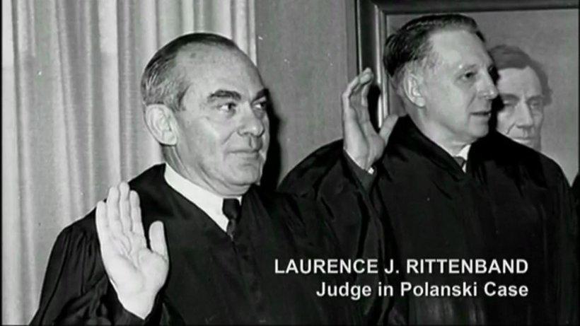 Sędzia Laurence Rittenband w sądzie w LA