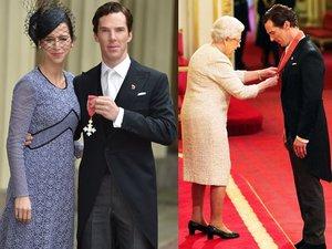 Benedict Cumberbatch odbiera Order Imperium Brytyjskiego