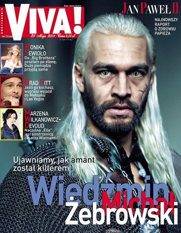 Michał Żebrowski jako Wiedźmin