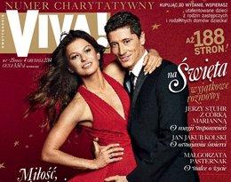 """Robert i Anna Lewandowscy, """"Viva!"""" grudzień 2014"""