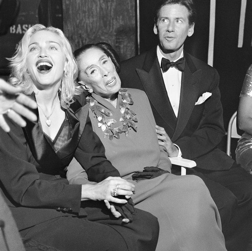 Madonna, Martha Graham i Calvin Klein