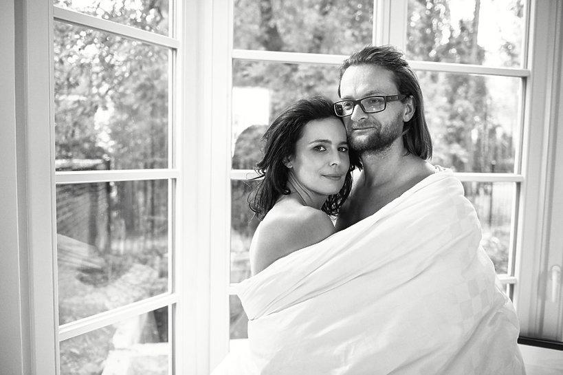 """Agata Passent i Wojciech Kuczok, """"Viva!"""" listopad 2013"""