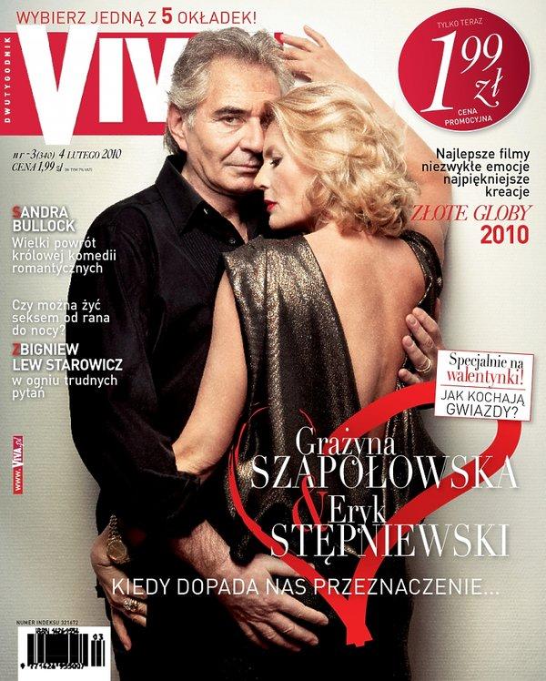 Grażyna Szapołowska i Eryk Stępniewski, Viva! luty 2010