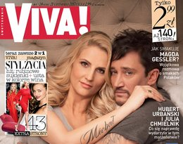 Dominika Tajner-Wiśniewska i Michał Wiśniewski, Viva! listopad 2013