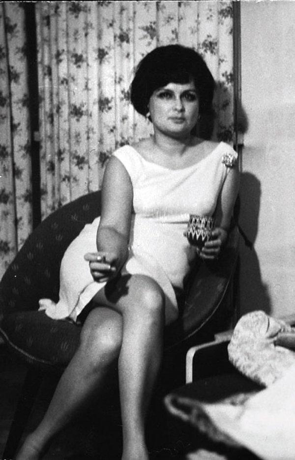 Jadwiga Kaczyńska, sylwester, Warszawa, koniec lat 80.