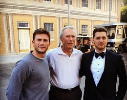 Scott Eastwood, Clint Eastwood, Michael Buble