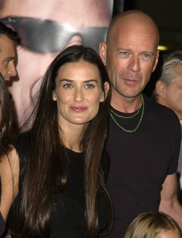 Demi Moore i Bruce Willis