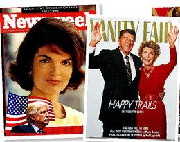 Michelle Obama trzykrotnie pojawiła się na okładce Vogue'a. A która First Lady była pierwsza?