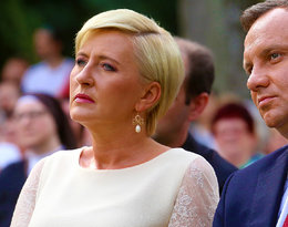 Po raz pierwszy od 22 lat rocznicę ślubu spędzili osobno. Czy między Agatą i Andrzejem Dudami coś się psuje?