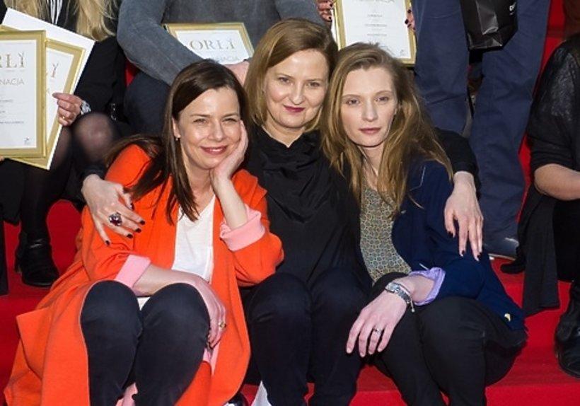 Iza Kuna, Agata Kulesza i Agata Buzek