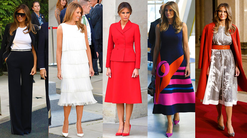 style de Melania Trump