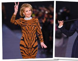 Jane Fonda i Helen Mirren wystąpiły na wybiegu podczas Tygodnia Mody w Paryżu! Jak się prezentowały?