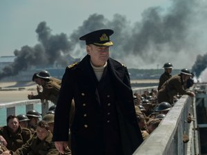 "Film Name: DUNKIERKA  Copyright: © 2017 WARNER BROS. ENTERTAINMENT INC. ALL RIGHTS RESERVED  Photo Credit: Melinda Sue Gordon  Caption: KENNETH BRANAGH as Commander Bolton in the Warner Bros. Pictures action thriller ""DUNKIRK,"" a Warner Bros. Pictures re"