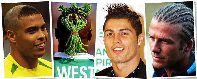Najdziwniejsze Fryzury Piłkarzy Beckham Ronaldo Balotelli