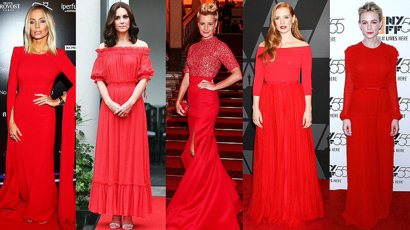 Czerwona sukienka sprawdzi się zarówno w Wigilię, jak i… w