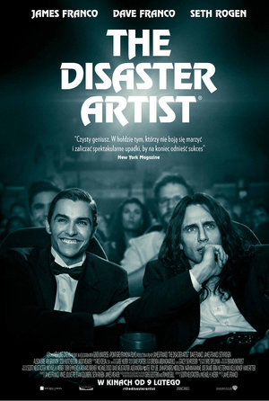 plakat filmu Disaster Artist w reżyserii Jamesa Franco