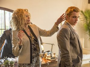 Sharon Stone i Dave Franco w filmie Disaster Artist