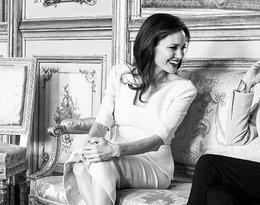 Angelina Jolie spotkała się w Paryżu z Brigitte Macron!