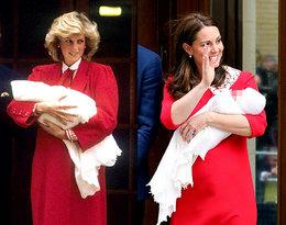 Księżna Kate po raz kolejny zainspirowała się stylem księżnej Diany!
