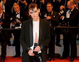 Kristen Stewart swoją stylizacją po raz kolejny złamała zasady w Cannes!