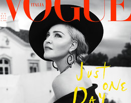 Madonna swoje 60. urodziny świętuje sesją we włoskim Vogue'u!