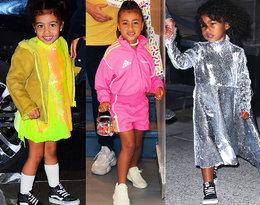 Pięcioletnia North West to ikona stylu? Zobaczcie jejstylizacje!