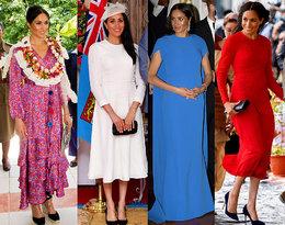 Księżna Meghan podbija Oceanię w kolejnych ciążowych stylizacjach