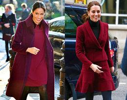 Modowy skandal? Księżna Kate zainspirowała się stylizacją Meghan!